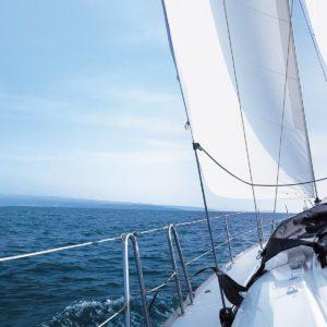Yacht-in-Ocean